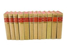 Mid Century Book Collection of Classic Works Published 1940s New York