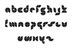modular typeface - Google Search