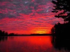 Chippewa flowage Hayward Wisconsin -