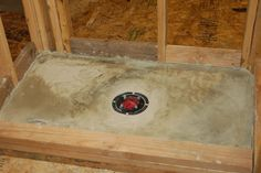 When building a tile shower it is important to start with a floor that slopes to the drain. This article teaches you how to build a cement / mortar shower pan.