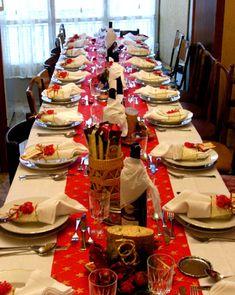 la tavola di natale - decorazioni natalizie - segnaposto in ... - Decorazioni Natalizie Tavola