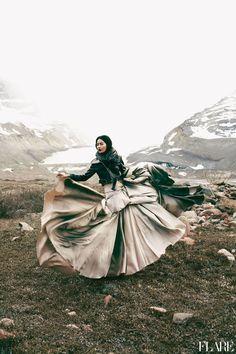 Glacial Glamour/ Fashion Director: Elizabeth Cabral / Photographer: Chris Nicholls