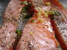 Teriyaki Grilled Salmon ... amazing recipe from Ray's Boathouse in Seattle