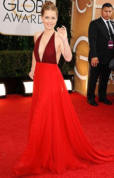Amy Adams in Valentino Couture @ 2014 Golden Globes-Vogue UK Amy Adams, Valentino Couture, Valentino Red, Prom Dress 2014, Backless Prom Dresses, Glamour, Beautiful Dresses, Nice Dresses, Iconic Dresses