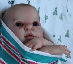 Reborn Prototype Baby Girl Doll Willow Flower Sam's Reborn Nursery   eBay