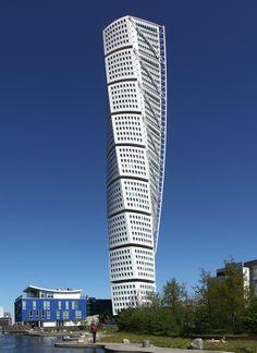 Santiago Calatrava's Turning Torso Wins CTBUH's 10 Year Award,© Flickr CC User Mirko Junge