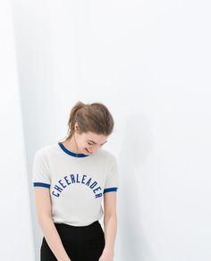 Image 3 of SHORT SLEEVE T-SHIRT from Zara