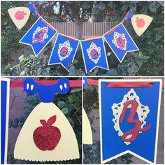 Snow White name banner by MyLaRoux on Etsy