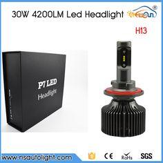 Low for TOYOTA Camry 2007-2016 4-SIDED LED Headlight Bulbs Kit 6000K White