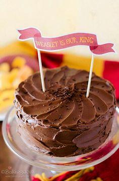 Cake For Ron Weasleys Birthday Yummy
