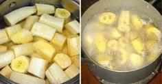 Ferva bananas antes de você deitar, beba o líquido e isto é o que vai acontecer!