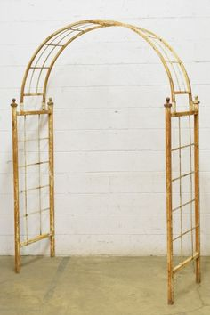 Columbus Architectural Salvage is a resource for old house parts and architectural elements for reuse in today's decorating, renovation, and construction projects. Architectural Salvage, Architectural Elements, Metal Trellis, Garden Arbor, Outdoor Structures, Construction, Architecture, House, Spaces