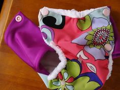 how to make lycra winged trainer pants which can also be used as pocket nappies / diapers.