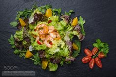 Pic: Fresh Salad with Shrimps