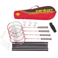 Carlton Championship 4 Player Badminton Set by Carlton. $49.90. A fantastic deluxe kit from Carlton, a world leader in badminton equipment. Their products are consistently high-quality. Fun for up to 4 players.. Save 17% Off!