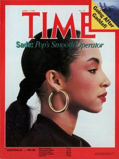 Sade, Time 1986 But What A Nice Profile, To Say The Least.
