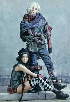 Sung Hee & G-Dragon Go 'Street to Street', Lensed By Kim Bo Sung For Vogue Korea August 2013
