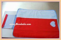 cambiador con bolsillo para pañales en www.ftbordados.com
