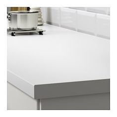 """IKEA - SÄLJAN, Countertop, 98x1 1/2 """", , 25-year Limited Warranty. Read about the terms in the Limited Warranty brochure.Laminate countertops are very durable and easy to maintain. With a little care, they stay like new for many years.The thicker countertop (1 1/2"""") with rounded front edge works perfectly in a traditional style kitchen.You can cut the countertop to the length you want and cover the edges with the 2 included edging strips."""