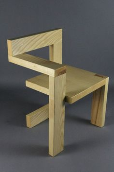 Custom Gerrit Rietveld Steltman Mid Century Chair in Ash is part of Wood furniture design - town and zip code for an accurate quote Buyer assumes all shipping costs PA buyers sales tax Classic Furniture, Unique Furniture, Furniture Projects, Furniture Plans, Furniture Decor, Furniture Design, Furniture Stores, Cheap Furniture, Luxury Furniture