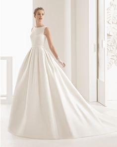Navares vestido de novia Rosa Clará 2017