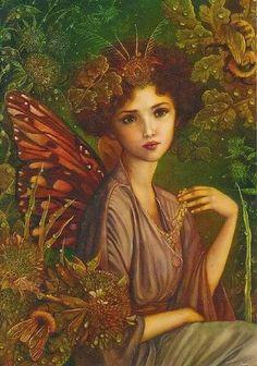 Fairy Art by Anne Stegg