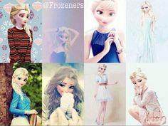 Elsa...eh not exactly a big fan but I kinda like it :)