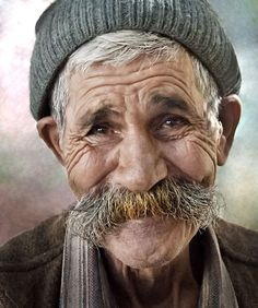 portrait Anatolian by Mehmet AKIN, via Old Faces, Many Faces, Photo Portrait, Portrait Photography, Human Photography, What Kind Of Man, Interesting Faces, Happy People, Smile Face