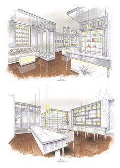 Interior Design Idea Sketch Pesentation