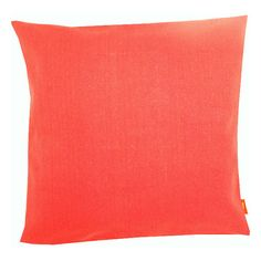 Amarelle Goa (33 CAD) ❤ liked on Polyvore featuring home, home decor, throw pillows and coral
