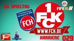 "LET'S PLAY FIFA 16 TRAINERKARRIERE #029 ""HEIDENHEIM vs FCK"" [XBOX One Ga..."