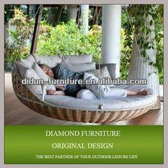 metall im freien schaukeln f r erwachsene innenhof h ngen bett swing liege set im garten produkt. Black Bedroom Furniture Sets. Home Design Ideas