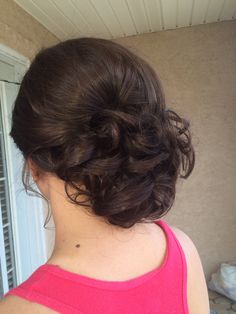 Formal updo for prom