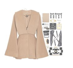 """Polarize."" by couturebae ❤ liked on Polyvore featuring Alexander McQueen, Valentino, Chanel, NAKAMOL, Jacquie Aiche, Michael Kors, Topshop, Bobbi Brown Cosmetics and AllSaints"