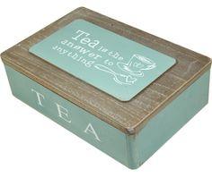 Tea is the answer cutie de depozitare