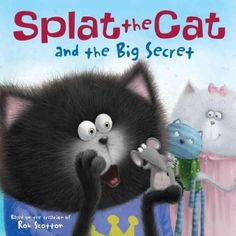 Shhhhh! Can you keep a secret? New York Times bestselling author-artist Rob Scotton is back with another story about Splat the Cat, and this time, your favorite frazzled cat has a secret of his own. W