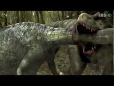 Tyranossaurus rex fight - (Briga de Dinossauro) - YouTube