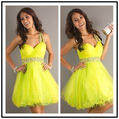 Free Shipping A Line Short Cocktail Dress One Shoulder Dresses SLD38717-ZZKKO
