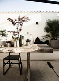 dehors . Daniella Witte . Femina #terrasse / for more inspiration visit http://pinterest.com/franpestel/boards/