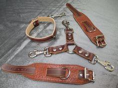 Braun Büffel Leder Handfesseln Zurückhaltung 3 Weg Hogtie und