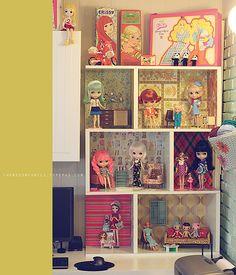 AMAZING Blythe Doll's house