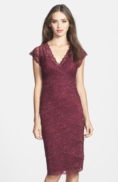 Marina Tiered Lace Dress (Regular & Petite) $129 Choice of colours! | Nordstrom
