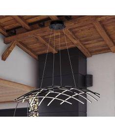 Comprar online Lámpara de techo con Iluminación LED TRAMA GR Bluetooth Luz Led, Bluetooth, Ceiling Lights, Lighting, Home Decor, Modern Ceiling, Modern Design, Modern Ceiling Lights, Modern Lighting