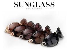 Fashionable Polarized Sunglasses Women Polaroid polarized lenses glasses women…