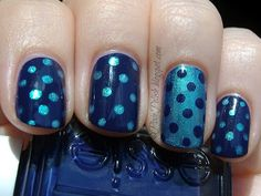 Polka dot mirrored