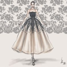 Fashion art, sketches, design, style