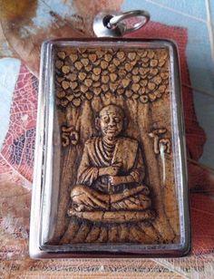ANTIQUE Holy Rare Phra Somdej LP THO Shin Banchon Wat Rakang Thai Buddha Amulet