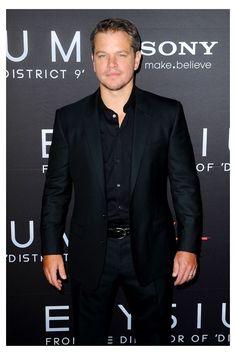 Matt Damon in Dolce & Gabbana