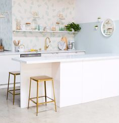 the oh joy studio kitchen / oh joy clé tile