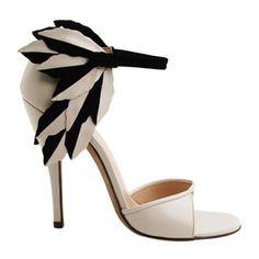 Nicole Brundage Eden Leaf Sandals